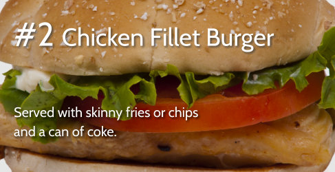 #2 Chicken Fillet Burger