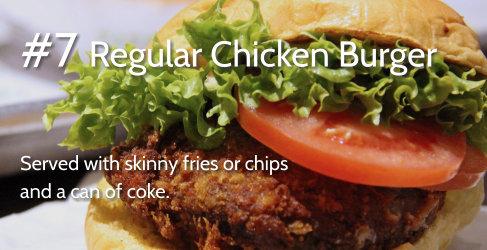 #7 Regular Chicken Burger